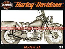 HARLEY DAVIDSON 750 XA 1942 Description Clones Bikes ; Rachat par AMF ; MOTO HD