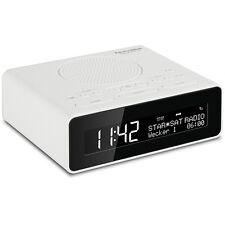 Technisat digitradio 51 Blanc DAB + radio numérique FM radiouhr radio réveil snooze