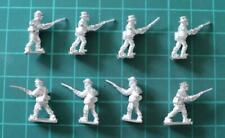 Peter Pig 15mm ACW Confederate in Civilian Hats Charging (8 figures)