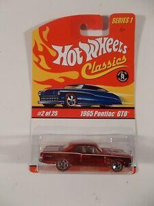 Hot Wheels Classics Series 1 #2 of 25 1965 Pontiac GTO
