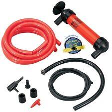 Liquid Transfer Siphon Pump Gas Oil Fuel Water Fish Tank Hand Tool Aquarium Kit