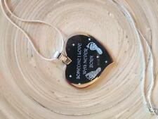 Personalised Engraved Necklace High Quality Memorial Remembrance / Gift <3