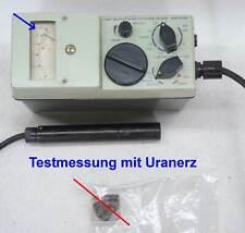 Strahlungsmessgerät Aktivitätsmesser Dosimeter Geigerzähler VA-J-100 / NVA DDR