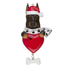 Personalized DOBERMAN PINCHERS Dog Lover, Pet Puppy's First Christmas Ornament