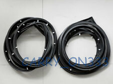 mazda rotary rx7 rx-7 SA22C coupe 2 door seal rubber weatherstrip pair 85 86 79