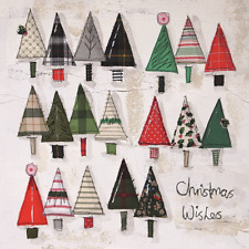 Pack of 8 Christmas Trees Marie Curie Charity Christmas Cards Xmas Cards