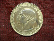 1923 GERMANY 10000 MARK NOTGELD COIN LARGE TOMBAK PIECE