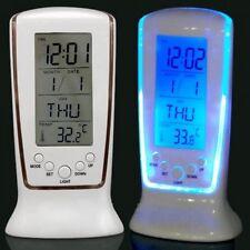 Modern Large Led Digital Clock Kitchen Wall Clock Table Desk Alarm Watch Snooze