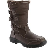 NEW WOMENS TOTES CELINA BROWN SNOW/WINTER BOOTS SIZE 10 M