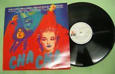 CHA CHA 1979 UK Ariola vinyl LP Nina Hagen Lene Lovich Herman Brood Meteors