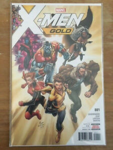 X-Men: Gold #1  1st Print! Recalled! Syaf controversial issue!