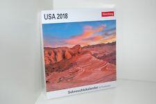Harenberg Sehnsuchtskalender Postkartenkalender USA 2018