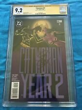 Catwoman #40 - DC - CGC SS 9.2 - Signed by Jim Balent - Batman