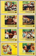 INHERIT THE WIND - 1960 - COMPLETE SET OF 8 ORIGINAL LOBBY CARDS - EXCELENT COND