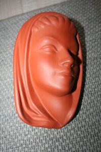Terra Sigillate Wormser Wandmaske 70er Jahre Karin 830