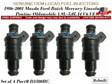 4x Fuel Injectors OEM LUCAS for 1999-2001 Ford E-150 Econoline Club Wagon 4.2L V