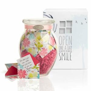 Kindnotes Refreshing Floral Jar with GET WELL Messages