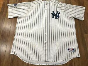 MENS 3XL -  Vtg MLB New York Yankees #62 Chamberlain Majestic Sewn Jersey