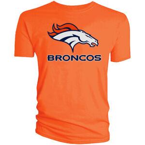 Denver Broncos T-Shirt Graphic Men Cotton DEN