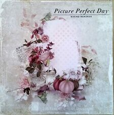 12 x 12 Printed Cardstock - Picture Perfect Day Making Memories