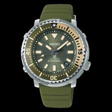 Seiko Prospex Men's Urban Safari Olive Green Baby Tuna Watch SRPF83K1