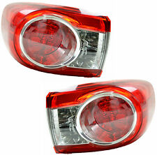 Pair Tail Lights For Toyota Corolla 04/10-05/15 New ZRE152/153  11 12 13 14 rear