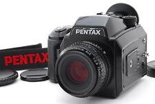 【Exc+++++】Pentax 645N Medium Format Camera + SMC A 75mm f2.8 Lens from Japan 796