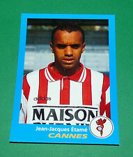 N°81 ETAME AS CANNES ASC LA BOCCA PANINI FOOT 96  FOOTBALL 1995-1996