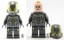 Yellow Jacket Ant-Man minifigure figure w Lego Sticker movie custom