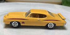 Johnny Lightning '71 Pontiac GTO Judge Yellow 1/64 Real Riders Diecast