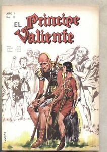 El Príncipe Valiente #11-1965 Prince Valiant Spanish Comic Book  Lord Cochrane