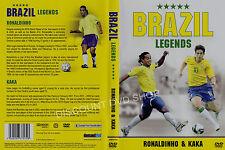 BRAZIL LEGENDS. RONALDINHO AND KAKA. NEW DVD