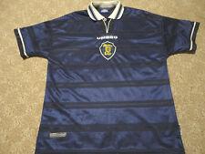 Authentic Umbro Scotland National World Cup 1998 Soccer Football Shirt Jersey XL