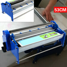 53cm Manual Wallpaper Roller Gluing Thick Glue Paste Machine with 8L groove Hot