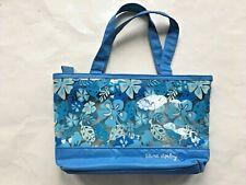 Laura Ashley Blue Floral Plastic Travel Make Up Toiletry Bag