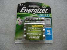 (4) Energizer AA Rechargeable Batteries, NEW