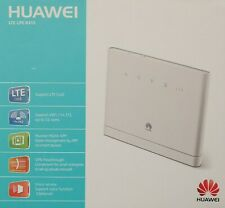 Huawei WLAN Router 2.4 GHz LTE UMTS GSM 3x RJ45 LAN Gigabit VPN Passthrough OVP