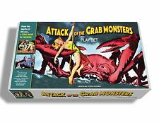 Marx Attack of the Crab Monsters Play Set Box.