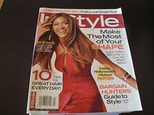 InStyle Fashion Magazine Jan 2007 Beyonce