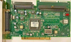 VINTAGE ADAPTEC AHA-2940W 2940UW ULTRA WIDE SCSI PCI CONTROLLER CARD - PULLS