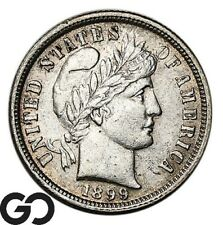 1899 Barber Dim, Silver 10c