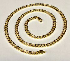 """10kt Yellow Gold Miami Cuban Curb Men's Link 20"""" 4.5 mm 10 grams chain/Necklace"""