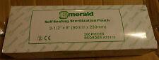 (2) Emerald Box of 200 Sterilization 3 1/2