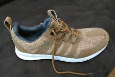 RARE adidas SL LOOP TAN LEATHER SHOES US 11 Sneakers Trainers