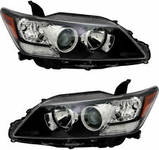 FITS FOR SCION TC 2011 2012 2013 HEADLIGHTS HALOGEN RIGHT & LEFT PAIR SET