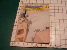 vintage original booklet - 1951Crochet for your Linen Closet clarks 277; 12pgs
