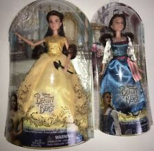 2 - Beauty And The Beast Belle Dolls *Village Dress + *Enchanting Ball Gown NEW!