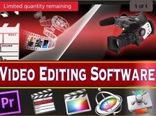 PROFESSIONAL VIDEO EDITING MOVIE STUDIO FULL COMPLETE SOFTWARE PROGRAM