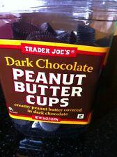 TRADER JOES DARK CHOCOLATE PEANUT BUTTER CUPS - 16 oz (454 g)