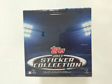 2013 TOPPS BASEBALL STICKER COLLECTION  BOX